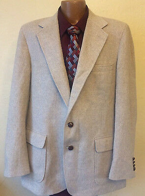 Vintage Vanjulian 100% Wool Mens Sports Coat Blazer
