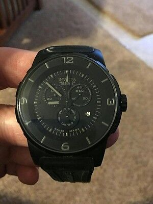 INVICTA RESERVE SWISS BLACK SEA VULTURE 46.5mm CRYSTAL FLAME FUSION- CHRISTMAS