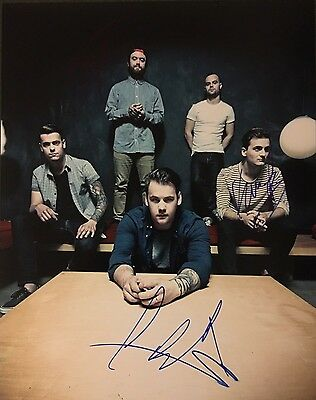 BEARTOOTH Signed 11x14 Photo Hard Rock Band *In Between* Rare Authentic + PROOF!