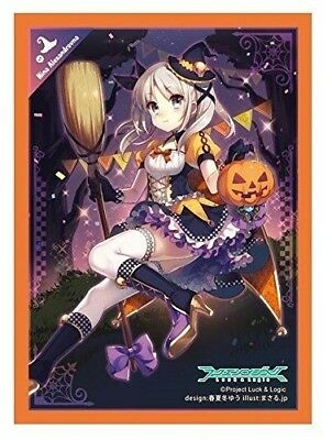 Luck & Logic Halloween Witch Nina Character Card Sleeves Collection Anime