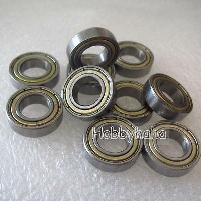 10pcs new MR137zz Ball Bearing metal sealed 7X13X4mm Miniature Mini Bearing