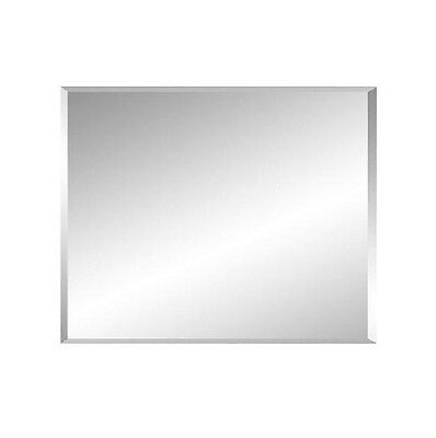 Bevel Edge Bathroom Mirror 750 X 600 x 6 mm Thickness Australian Standard