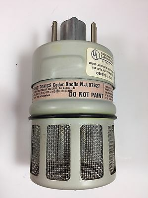 Pyr-A-Larm Pyrotronics F5B Smoke Detector Working Nuclear Warning 80uci Am241
