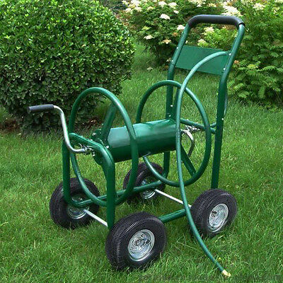 Garden Hose Cart Trolley Reel Powder Coated Steel Hold Free Delivery 7 Days