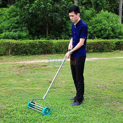 Outdoor Garden Heavy Duty Aerator Grass / Lawn Handheld Manual Aerator