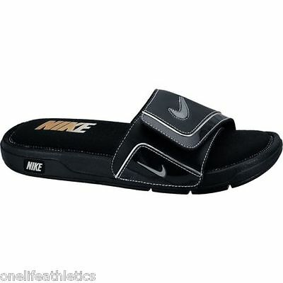 cc2694b1454 New Men s Nike Comfort Slide 2 Slide Sandals NWT NEW Flip flops Black