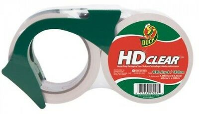 Duck Brand HD Clear High Performance Packaging Tape, 1.88-Inch X 54.6-Yard, 1