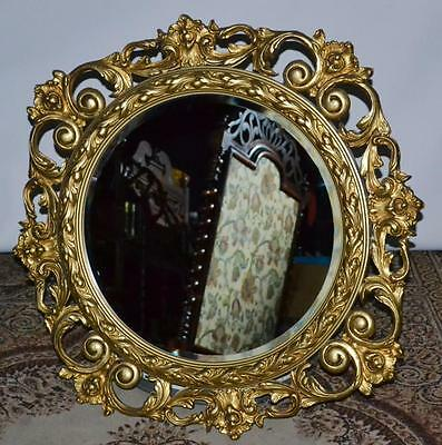 A Large Gilt Florentine Mirror - FREE Shipping [PL2622]