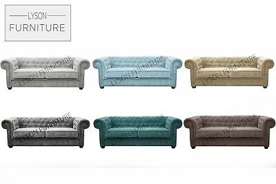 Sofa  3 or 2 Seater IMPERIAL - CHESTERFIELD Fabric