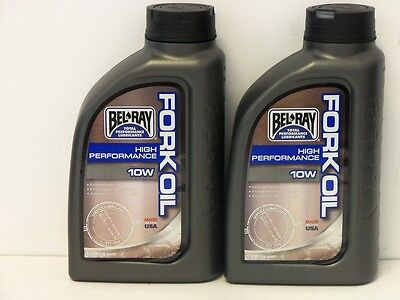 11,-€/l Bel-Ray High Performance Fork Oil 10W 2 x 1 Ltr Gabelöl