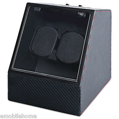 Automatic Watch Winder Auto Silent Watch Winder  Irregular Shape Wristwatch Box