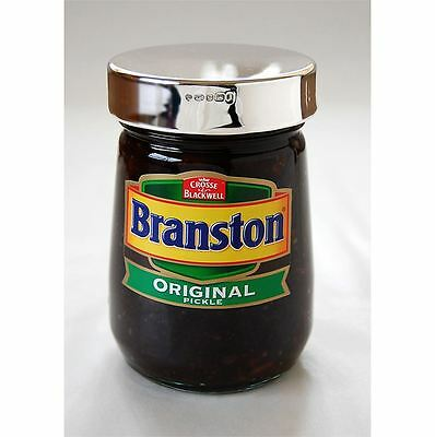 Sterling Silver Lid for Branston Pickle
