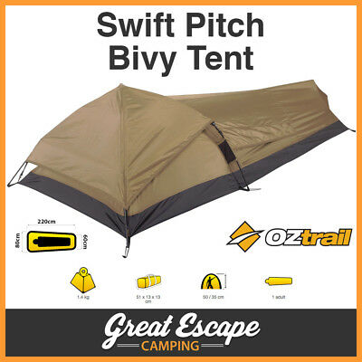 OZtrail Swift Pitch 1 Person Bivy Tent