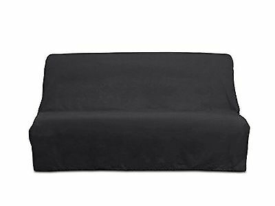 PANAMA cotton clic-clac sofa bed cover - anthracite Grey
