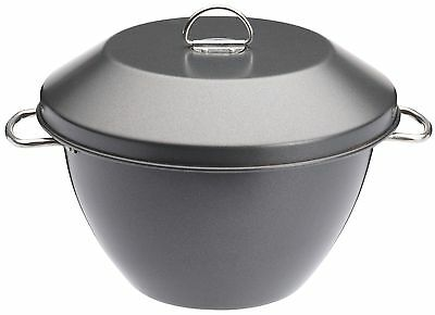 Master Class Non-Stick Pudding Basin / Steamer Bowl With Lid 2 Litre (3.5 Pint)