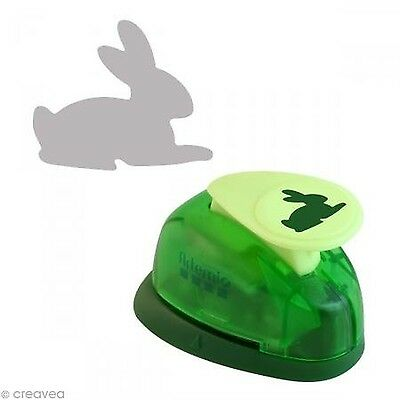 Artemio 1.6 cm Small Rabbit Number 1 Lever Punch Green