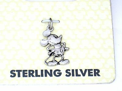 .925✿Sterling Silver 925 Mickey Mouse Icon Charm for Bracelet✿Disney Authentic