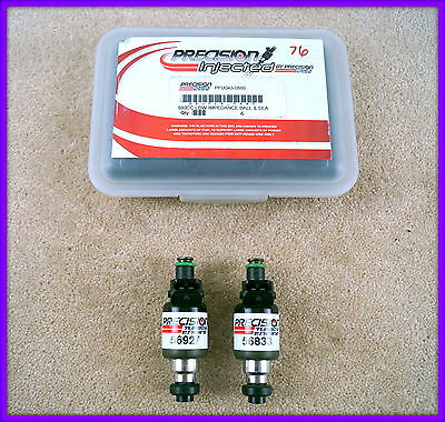 PRECISION INJECTORS 880cc - Pair of fuel injectors - 043-0880