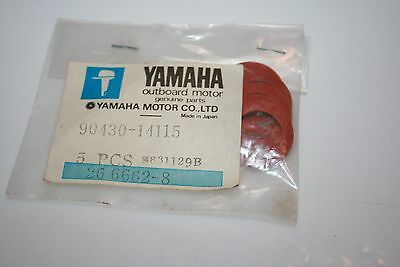 5 Nos Yamaha Outboard Crankcase Plug Gaskets 90430-14115 115 150 175Hp