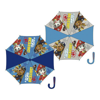 Paw Patrol Umbrella Childrens Blue 8 Panel Brolly Officially Licensed 85cm