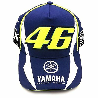 Casquette Officielle 2016 Yamaha Valentino Rossi Vr46 The Doctor