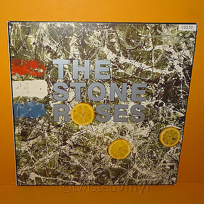 "1991 Silvertone Records The Stone Roses 12"" Gatefold Lp Vinyl Record Rare Ltd Ed"