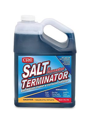 CRC SX128 Salt Terminator Engine Flush Cleaner and Corrosion Inhibitor - 1 Ga...