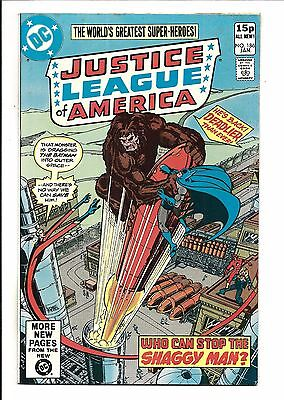 Justice League Of America # 186 (Jan  1980), Fn/vf