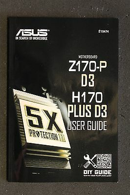 ASUS Z170-P D3/H170 Plus D3 Handbuch - Manual   #42223