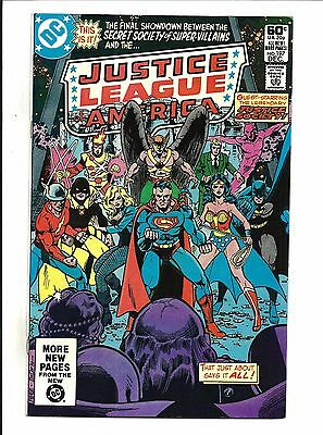 Justice League Of America # 197 (Dec 1981), Vf/nm