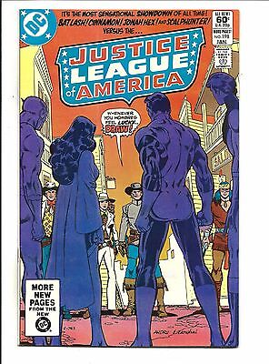 Justice League Of America # 198 (Jan 1982), Nm
