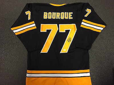 RAY BOURQUE BOSTON BRUINS Autographed SIGNED JERSEY JSA COA