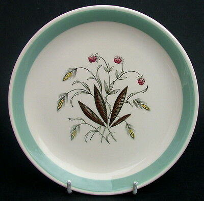 Vintage 1970's Alfred Meakin Hedgerow Pattern Side or Bread Size Plates 17.25cmw