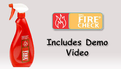 MSL Firecheck Flame Retardant Spray 750ml.