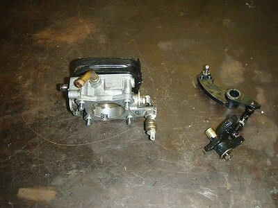 Johnson or Suzuki Outboard Throttle Assembly with Linkage Assembly