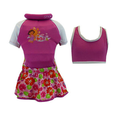 Dora The Explorer - Float Suit - New - Size 2-3 Years & 3-4 Years - 3 In 1