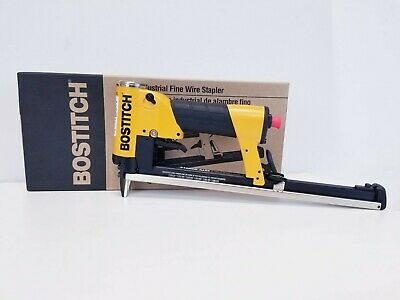 Upholstery Stapler, Bostitch 21680Balm Auto Long Magazine Air, Industrial