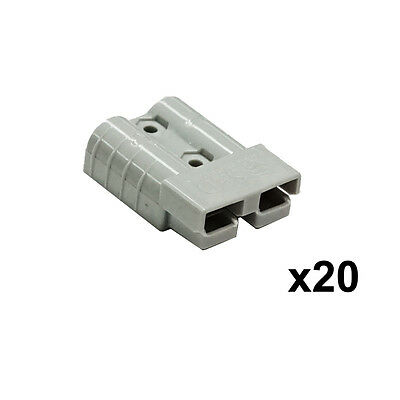 New 20X 50AMP Premium Anderson Style Plug Exterior Connector DC Power Solar New