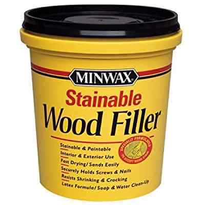 Minwax 42853 Stainable Wood Filler, 16-Ounce