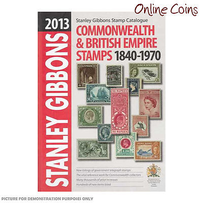2013 Stanley Gibbons - Stamp Catalogue Commonwealth & British Empire 1840 - 1970