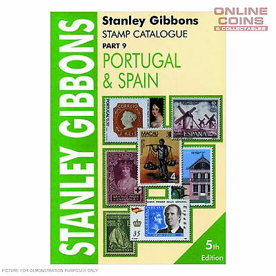 2004 Stanley Gibbons - Stamp Catalogue Portugal & Spain Soft Cover Book Part 9