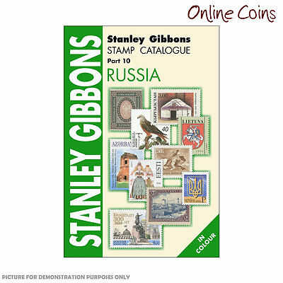 Stanley Gibbons Stamp Catalogue Russia Part 10 6th Edition Soft Cover Book
