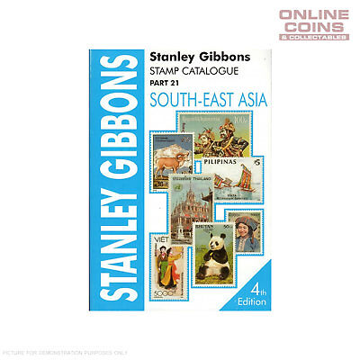 Stanley Gibbons Stamp Catalogue South East Asia Part 21 4th Edition Soft Cover