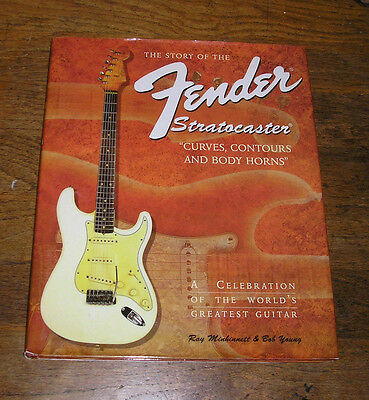 The Story Of The Fender Stratocaster Book Hard Back