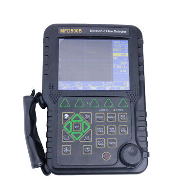 New NDT MFD500B Digital Ultrasonic Flaw Detector Up to 9999 mm