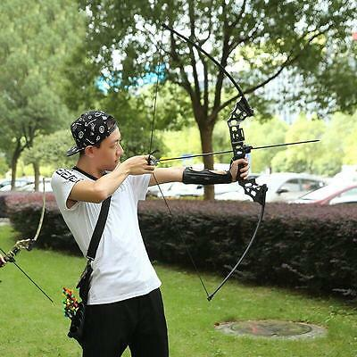 40lbs New Takedown Straight Bows Archery Hunting Fishing Longbow Practice Target