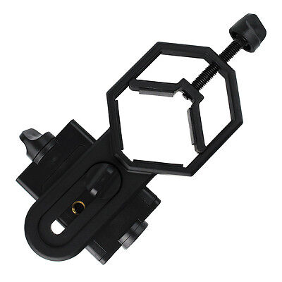 Hot Universal Cell Phone Adapter Mount For Binocular Monocular Spotting Scope US
