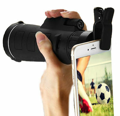 Day&Night Vision 35X50 HD Optical Monocular Hunting Hiking Telescope Clip w/Clip