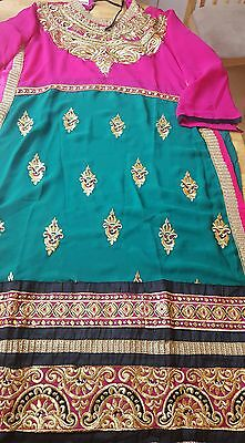 indian pakistani unstitched heavy work 3 suit  salwar kameez
