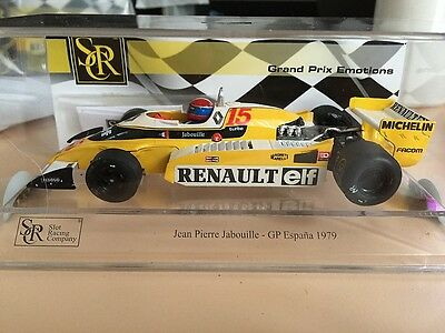 02103 Src F1 Renault 1979 Espana Grand Prix Limited Edition Slot Car 1:32